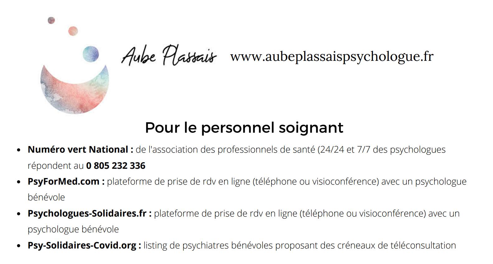 liste des lignes d'écoutes psychologique en France